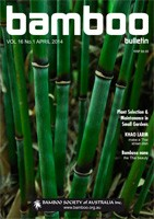 Bamboo Bulletin Apr 2014