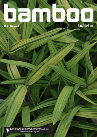 Bamboo Bulletin – Volume 20 No1